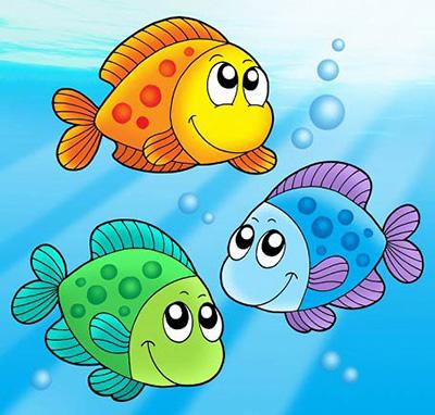 قصه سه ماهی برای کودکان